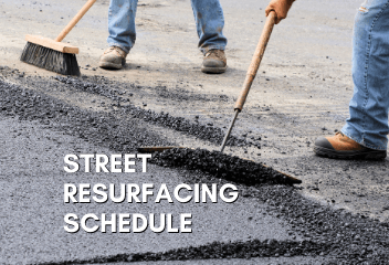 Street Resurfacing Schedule