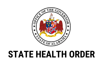 State Health Order with Governor Seal