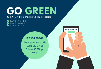 Go Green Paperless Billing Simple