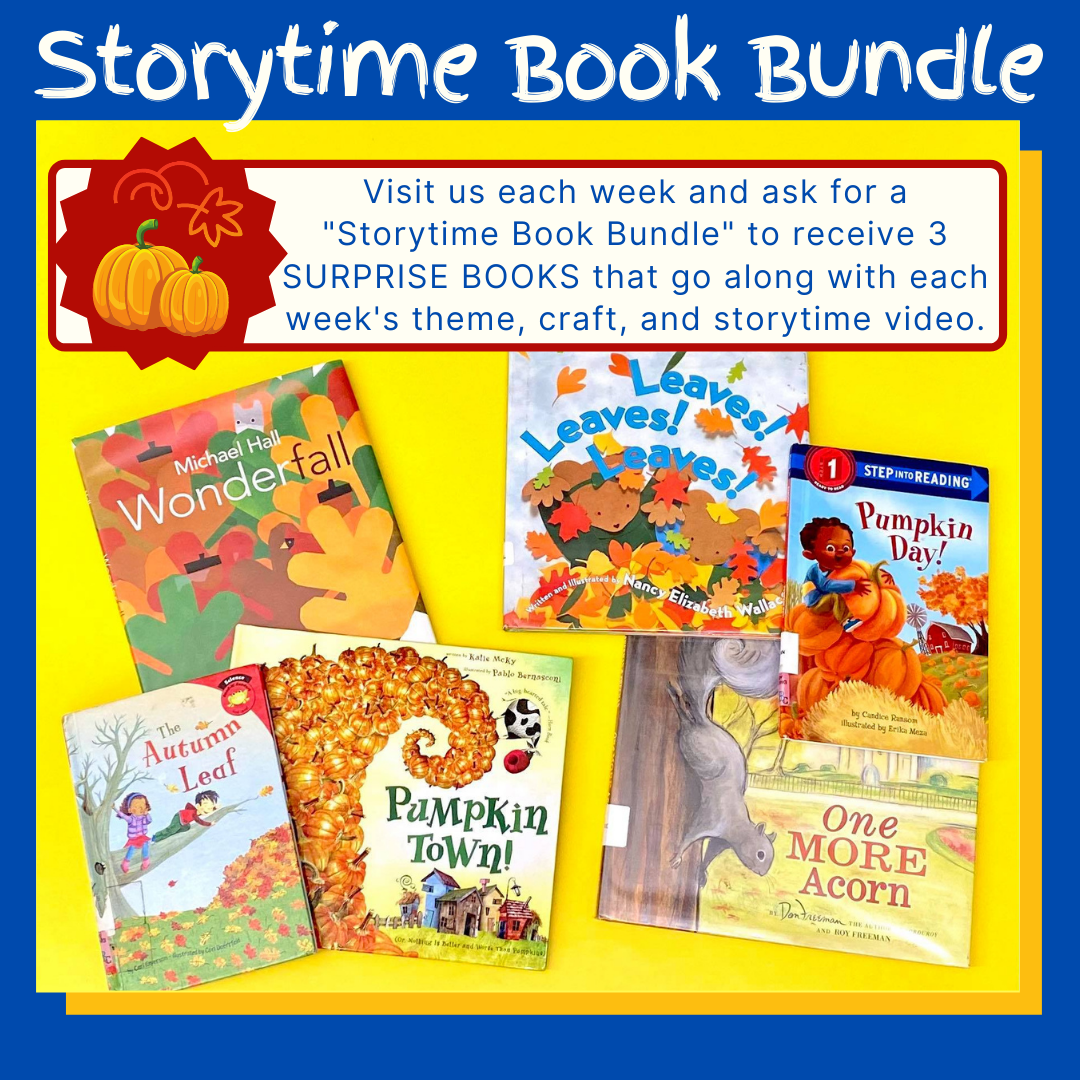 Storytime Book Bundle FALL