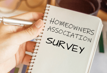 Homeowners Association Survey Notepad